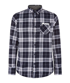 Pocket Logo Flannel Shirt - MARBEK