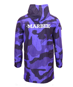 Midnight Purple Camo Archive Raincoat