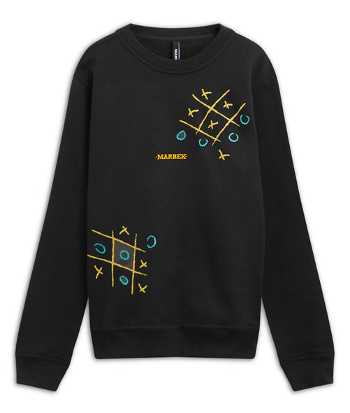 Nought and Crosses Sweater