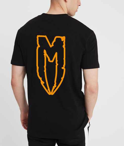 Orange M Logo T-Shirt