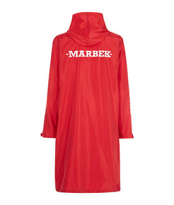Archive Raincoat Cherry Red - MARBEK