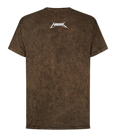Monkey Skeleton Tee in Brown