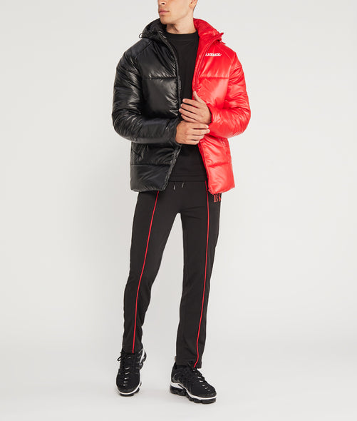 Split Menace Puffer Jacket