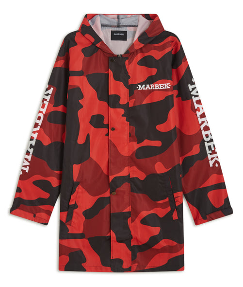 Fire Red DPM Raincoat V2
