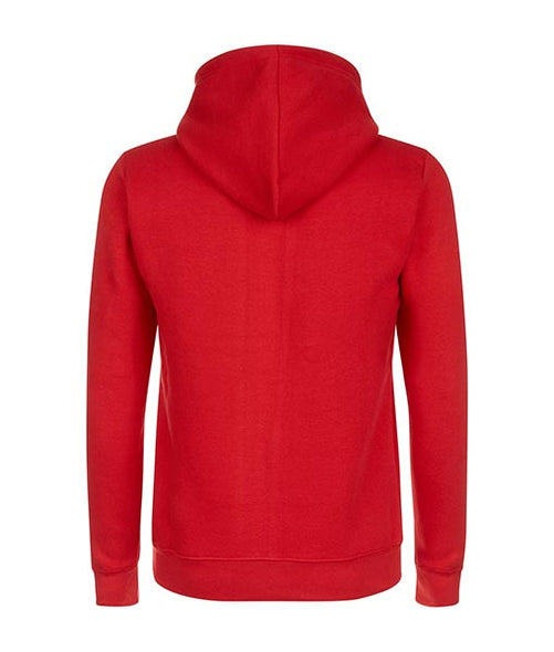 Essentials Box Logo Red Hoodie - MARBEK