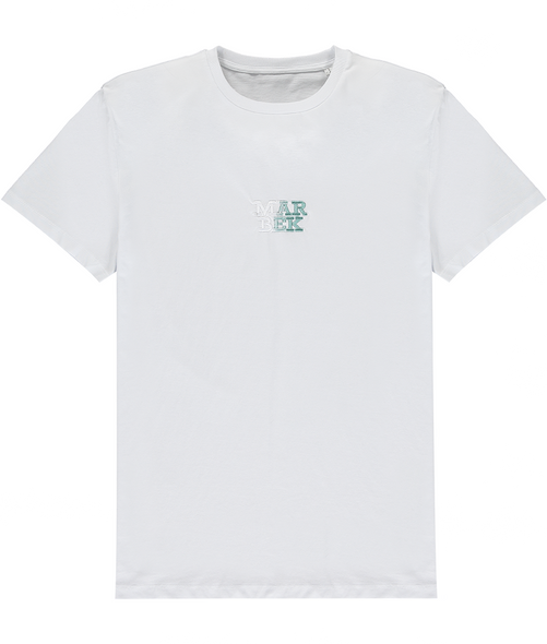 White Fade Logo T-Shirt Mint