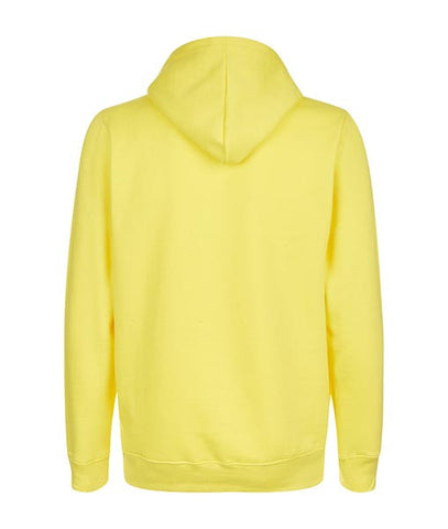 Essentials Box Logo Yellow Hoodie