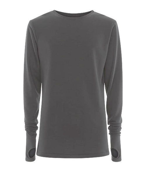 Grey Thumb Hole Jersey - MARBEK