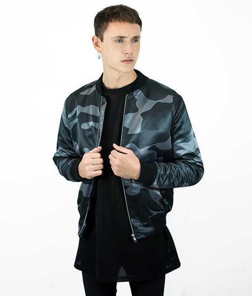 Grey DPM Bomber Jacket
