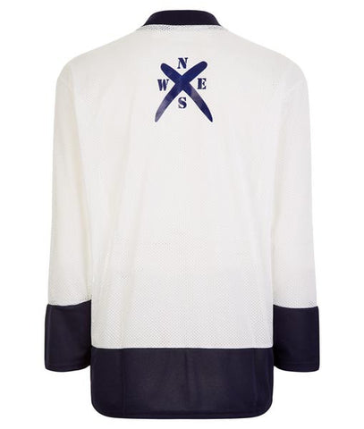 White Hockey Jersey