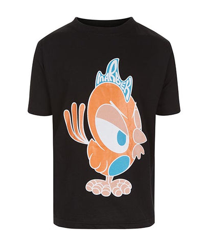 Kids Rooster Black Tee