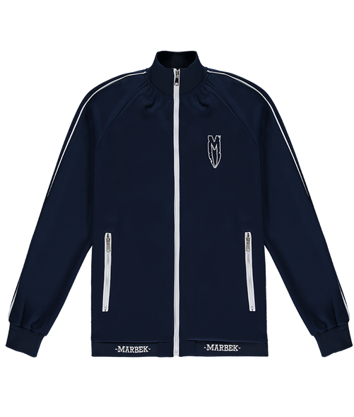 Navy Menace Tracksuit Top