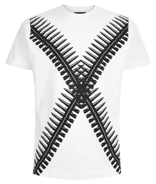 Double Sided Bullet Regular Fit Tee