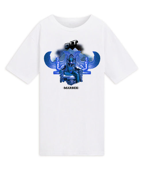 Marbek X DLT T-Shirt White/Blue