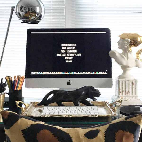 STYLE YOUR DESK LIKE A #WOMENWARRIOR