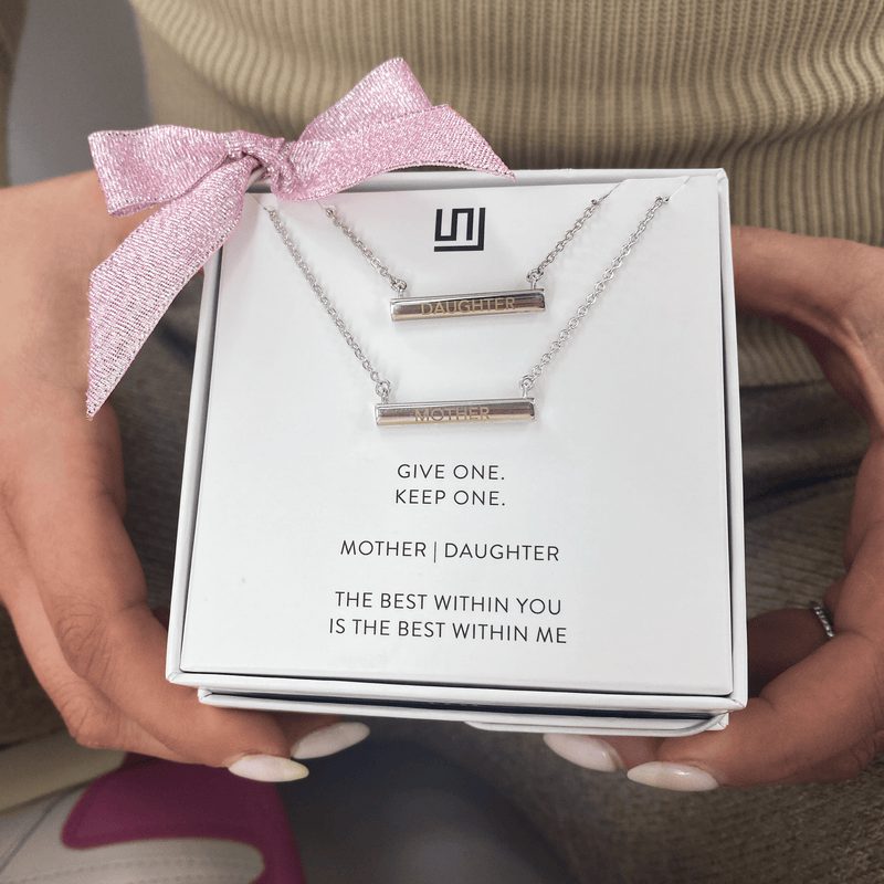MOTHER | DAUGHTER Necklace Gift Set
