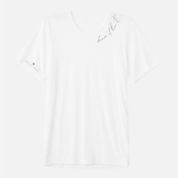 DREAM IT. LIVE IT. White Boyfriend T-Shirt