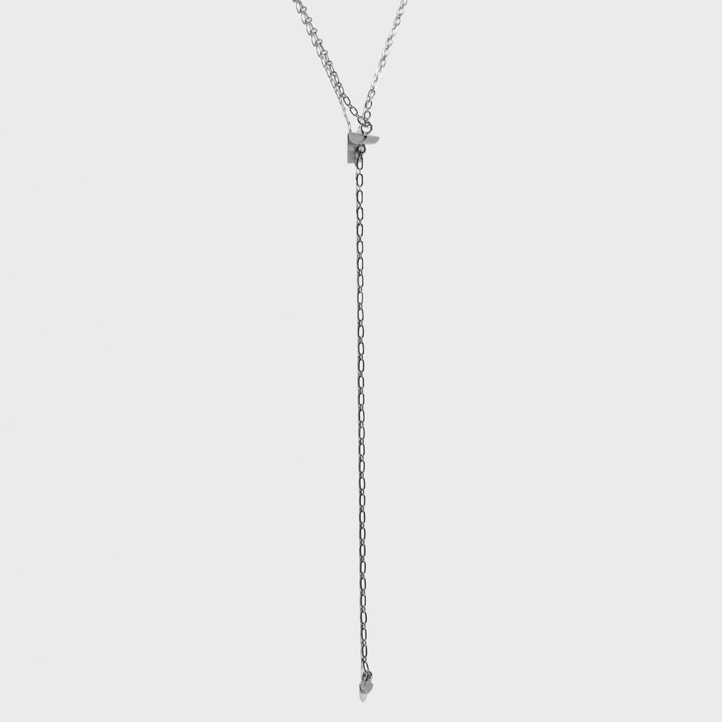 WOMAN WARRIOR Lariat Necklace