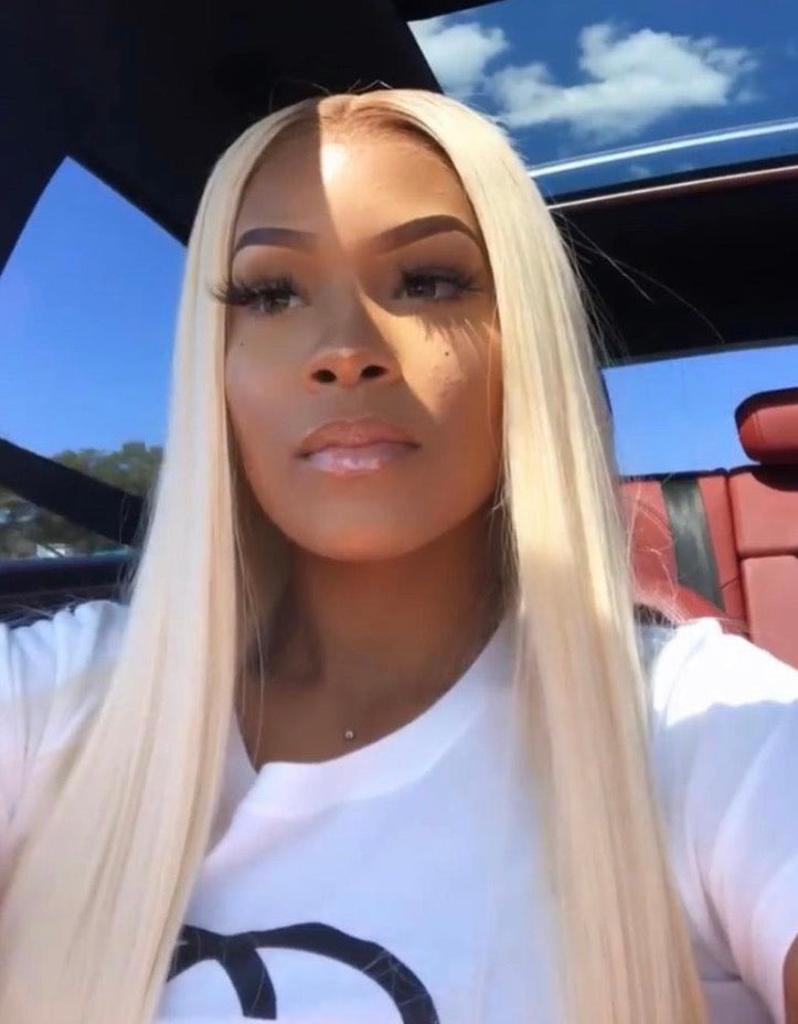 Russian Blonde Lace Frontal Wig