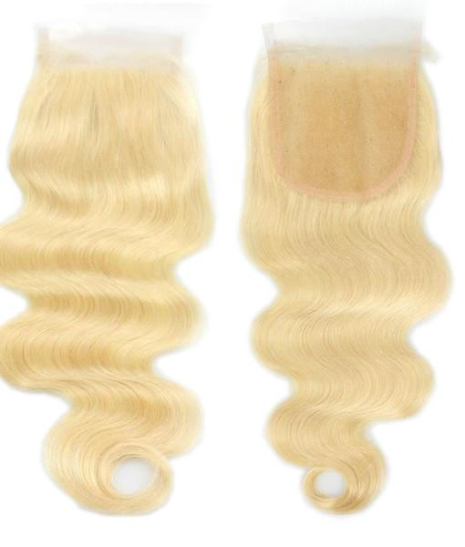Russian Blonde Lace Closure