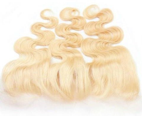 13x4 Lace Russian Blonde Frontal - Foreign Strandz