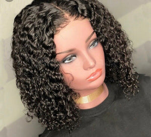 summer curly beginners wig- Foreign Strandz