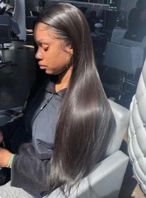 Straight Frontal Wig
