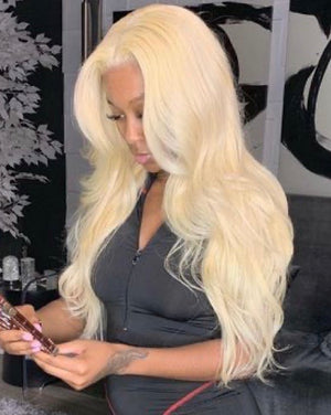 Russian Blonde Lace Wig