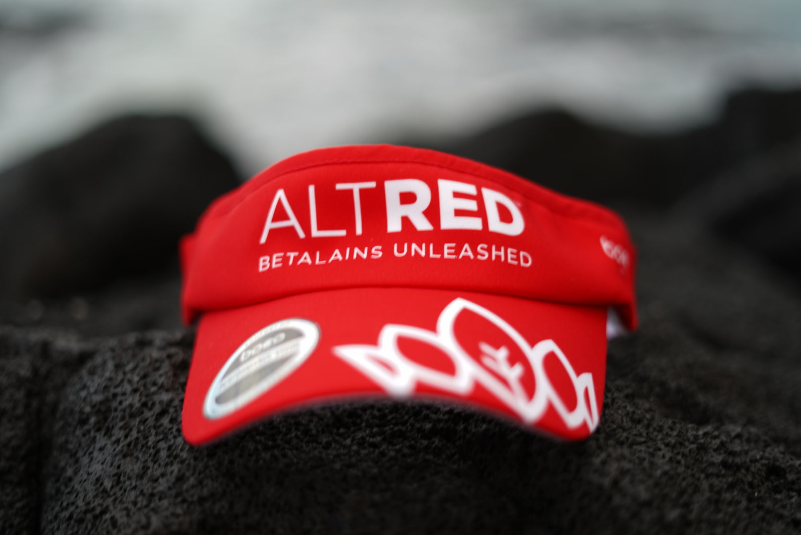 Red AltRed Visor
