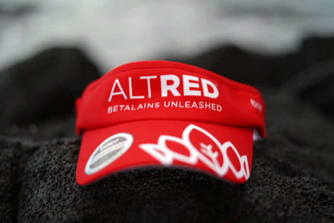 AltRed Visor -  Red
