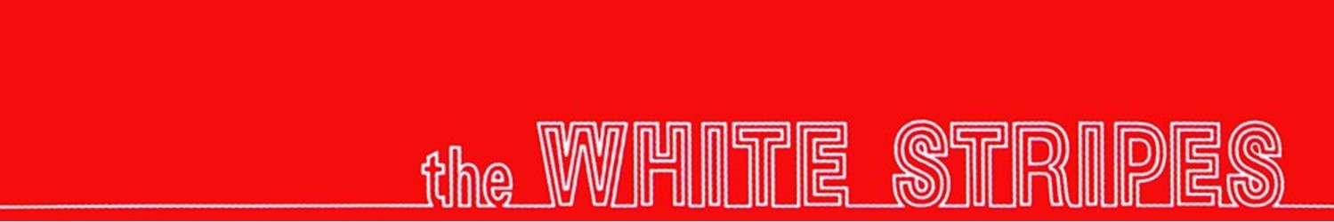 THE WHITE STRIPES T-SHIRTS, HOODIES, MYSTERY BOXES, MUGS, POSTERS AND OTHER ACCESSORIES