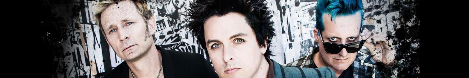 Green Day T-shirts, Hoodies, Mystery Boxes, Mugs, Posters and other accessories