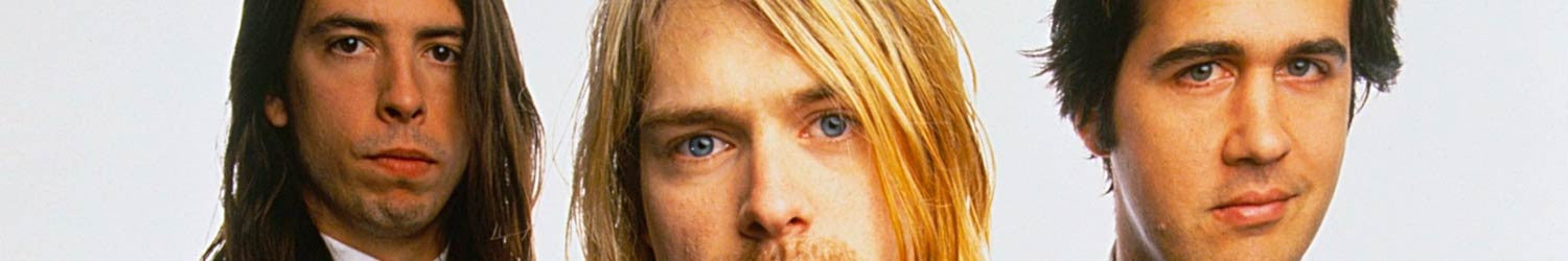 Nirvana T-shirts, Hoodies, Mystery Boxes, Mugs, Posters and other accessories