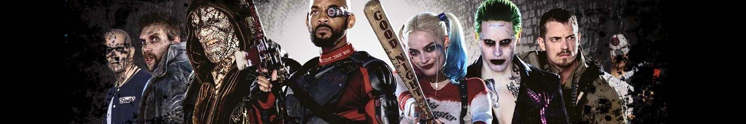 Suicide Squad T-shirts, Hoodies, Mystery Boxes, Mugs, Posters and other accessories