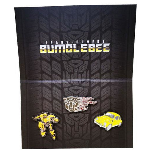 Transformers Bumblebee Movie | Set of 3 Pin Badges