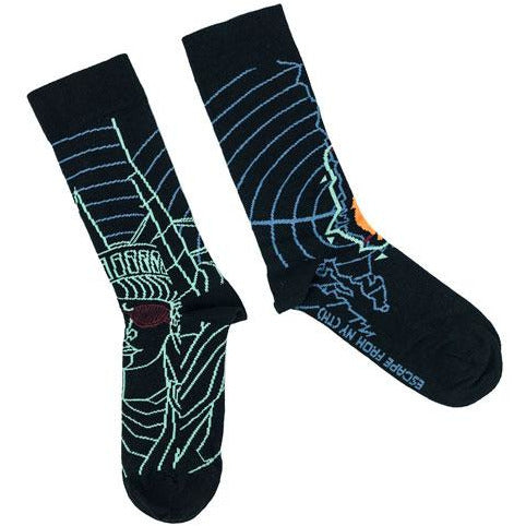 Escape From New York | Statue of Liberty Socks