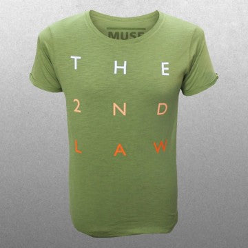Muse - The 2nd Law Logo Type Men's T-shirt