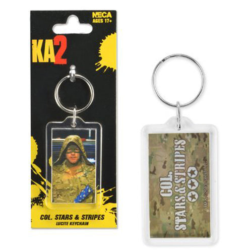 Kick Ass 2 | Col Stars & Stripes Lucite Keychain