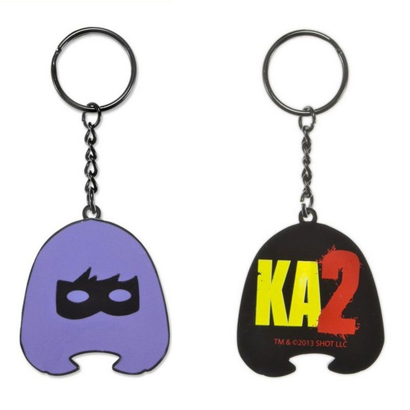 Kick Ass 2 | Hit Girl Mask Metal & Enamel Keychain