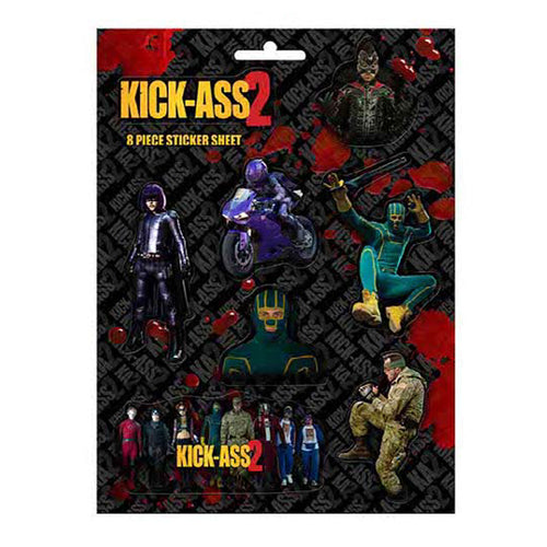 Kick Ass 2 | Character Art Sticker Set