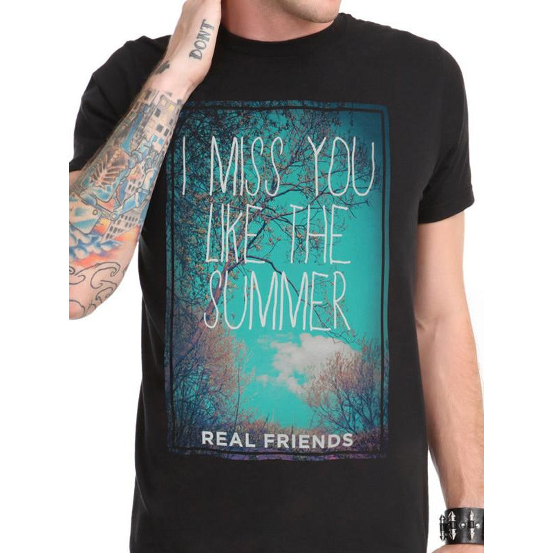 Buy Real Friends (Summer) T-shirt online at Loudshop.com