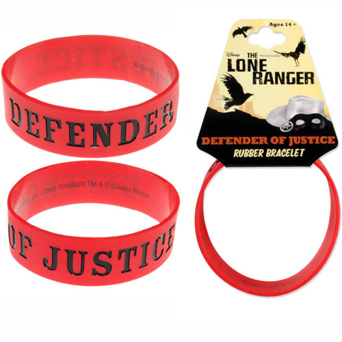 The Lone Ranger | Defender Of The Justice Rubber Bracelet
