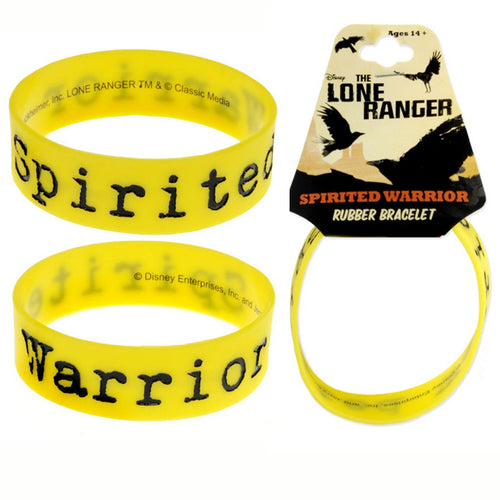 The Lone Ranger | Spirited Warrior Rubber Bracelet