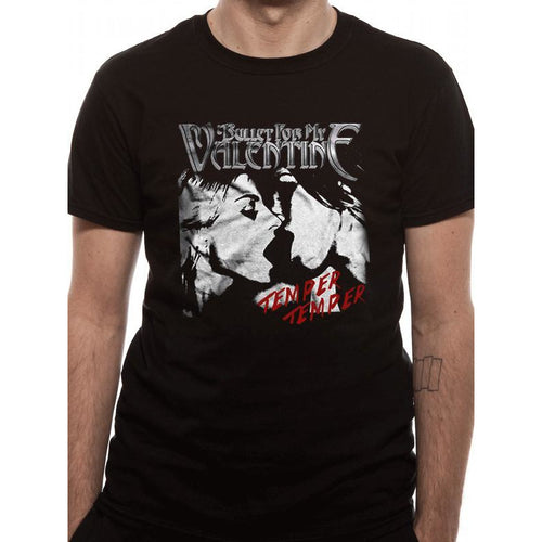 Buy Bullet For My Valentine (Temper Temper Kiss) T-shirt online at Loudshop.com