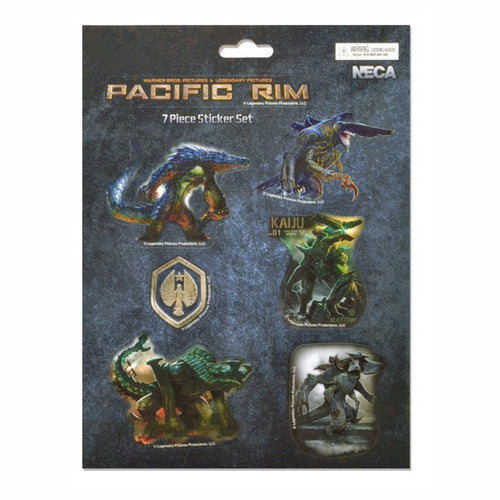Pacific Rim | Kaiju 7 Piece Sticker Set