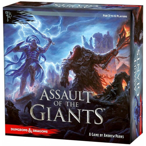 WizKids | Dungeon and Dragons | Assault of the Giants (Standard Edition) | Board Game