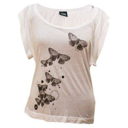 Muse | Butterfly Mono Scoop Neck Ladies T-Shirt