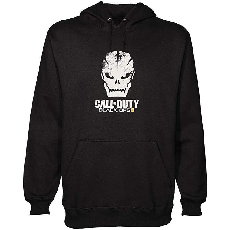 Call Of Duty Black Ops 3 | Skull Black Hooded Sweatshirt