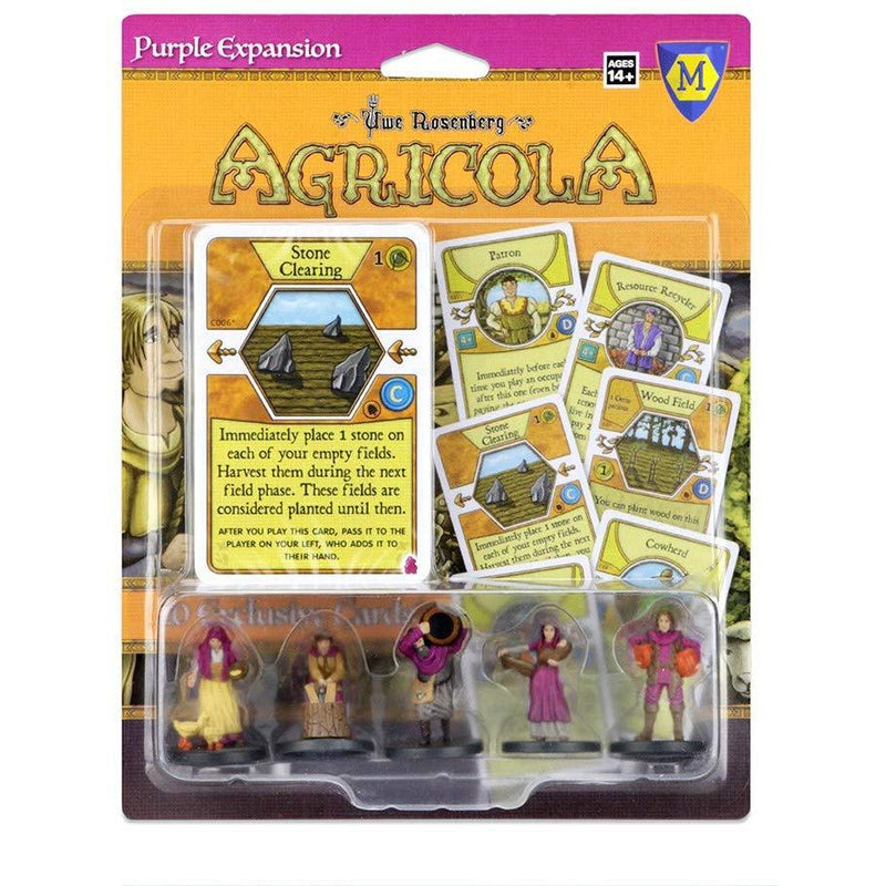 WizKids | Agricola: Purple Expansion | Card Game
