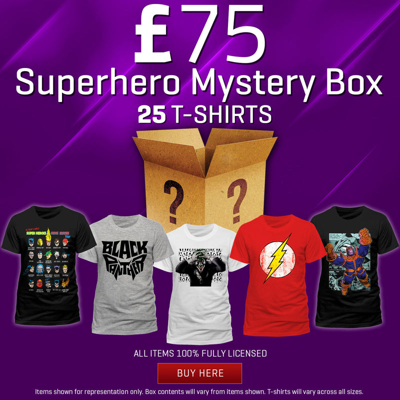 £75 Superhero Mystery Box